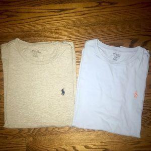 Lot of 2 RL Polo T-shirts